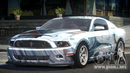 Shelby GT500 BS Racing L2 para GTA 4