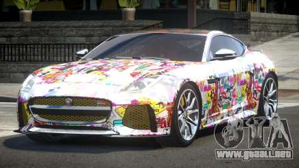 Jaguar F-Type GT L4 para GTA 4