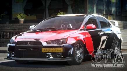 Mitsubishi Evolution X L3 para GTA 4