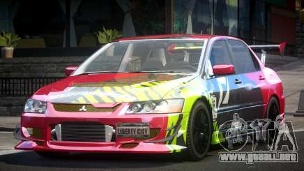 Mitsubishi Evolution VIII GS L3 para GTA 4