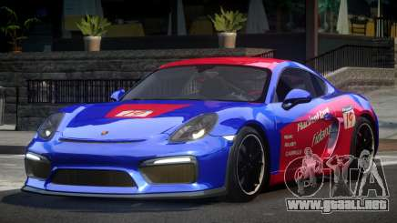 Porsche Cayman GT4 R-Tuned L7 para GTA 4