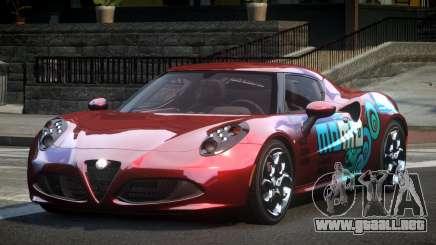 Alfa Romeo 4C L-Tuned L8 para GTA 4