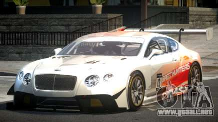Bentley Continental GT Racing L9 para GTA 4