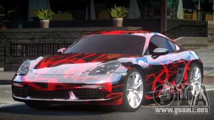 Porsche 718 Cayman L2 para GTA 4