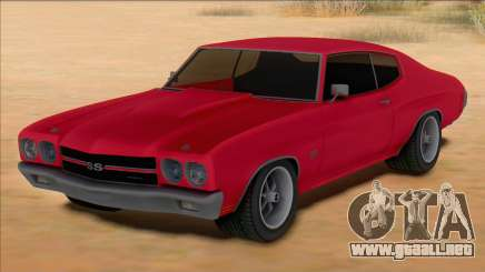Chevrolet Chevelle SS Red para GTA San Andreas