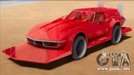Chevrolet Corvette C3 Wagon Bosozoku para GTA San Andreas