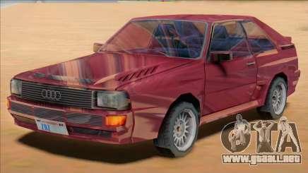 Audi Quattro B2 1991 para GTA San Andreas