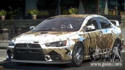 Mitsubishi Evolution X L10 para GTA 4