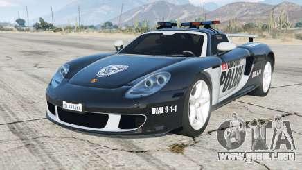Porsche Carrera GT (980) Police para GTA 5