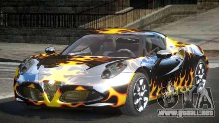 Alfa Romeo 4C SR PJ4 para GTA 4