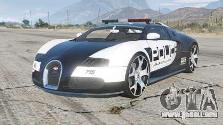 Bugatti Veyron Police para GTA 5