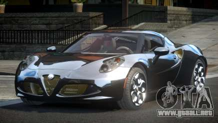 Alfa Romeo 4C SR para GTA 4
