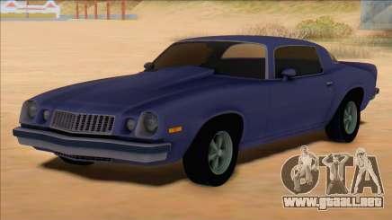 Chevrolet Camaro 1975 para GTA San Andreas