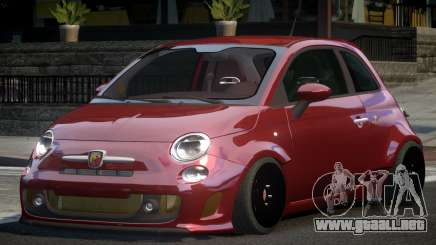 Fiat Abarth HK para GTA 4