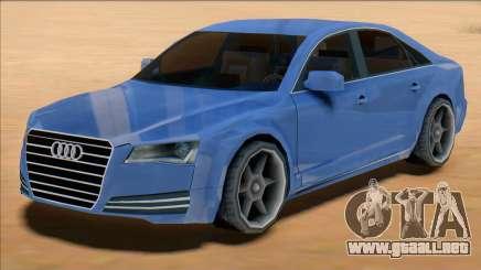 Audi A8 2008 para GTA San Andreas