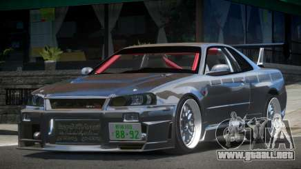 Nissan Skyline R33 PSI Drift para GTA 4