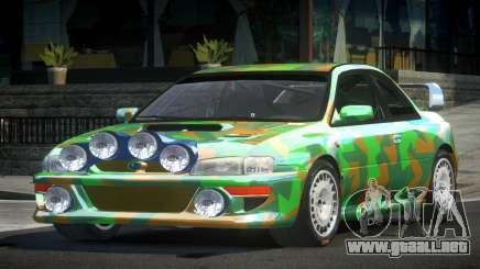 1998 Subaru Impreza RC PJ8 para GTA 4