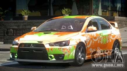 Mitsubishi Evolution X L6 para GTA 4