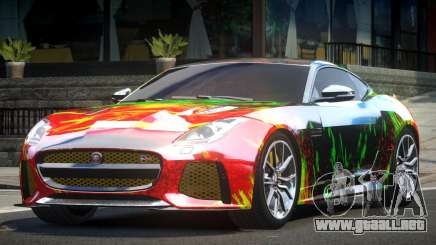 Jaguar F-Type GT L2 para GTA 4