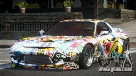 Mazda RX-7 PSI Tuning L4 para GTA 4