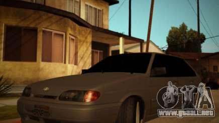 Vaz 2114 en el extranjero para GTA San Andreas