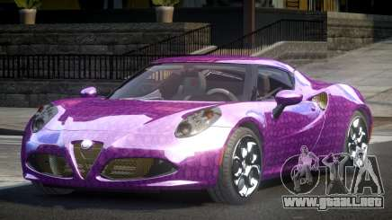 Alfa Romeo 4C SR PJ2 para GTA 4