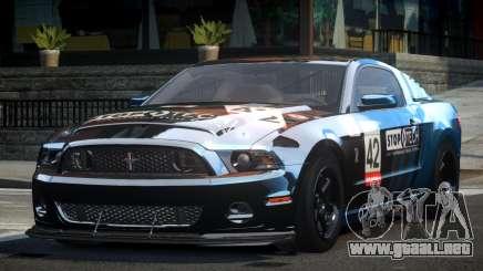 Shelby GT500 BS Racing L4 para GTA 4