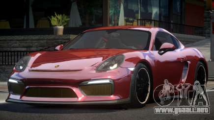 Porsche Cayman GT4 R-Tuned para GTA 4