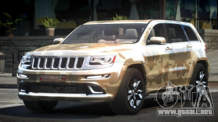 Jeep Grand Cherokee E-Style L4 para GTA 4