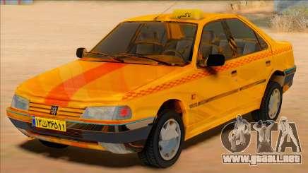 Peugeot 405 Road taxi para GTA San Andreas