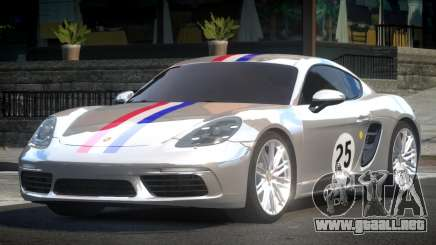 Porsche 718 Cayman L1 para GTA 4