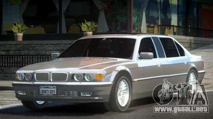 BMW 7-er E38 Custom para GTA 4