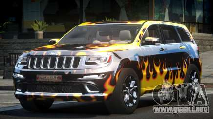 Jeep Grand Cherokee E-Style L8 para GTA 4