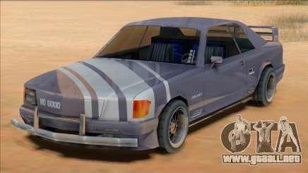 1991 Mercedes 560 SEC Insurgent [SA Style] para GTA San Andreas