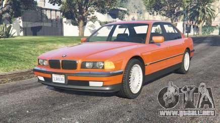 BMW 750i (E38) 199ⴝ para GTA 5