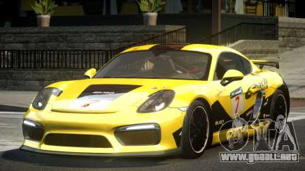 Porsche Cayman GT4 R-Tuned L1 para GTA 4