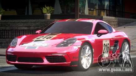 Porsche 718 Cayman L3 para GTA 4