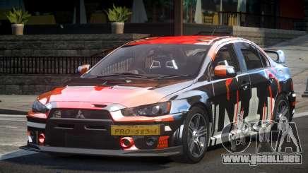 Mitsubishi Evolution X L2 para GTA 4