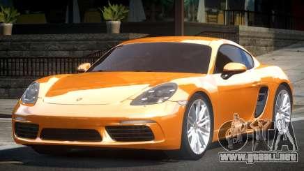 Porsche 718 Cayman para GTA 4
