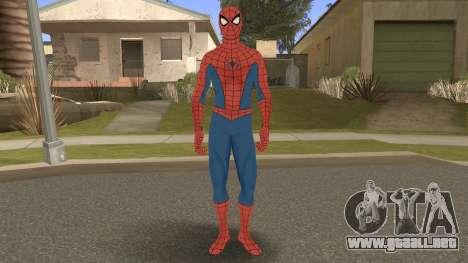 Spider-Man Classic Suit PS4 Retexture para GTA San Andreas