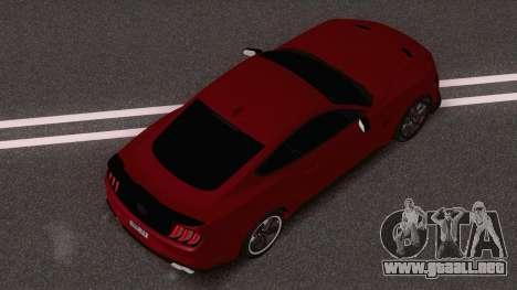 2021 Ford Mustang Mach 1 para GTA San Andreas