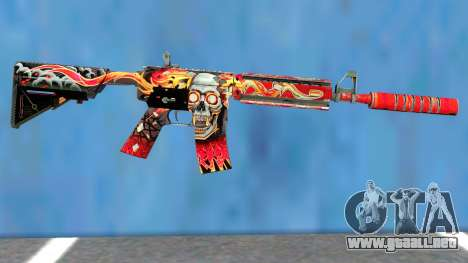 M4A4 Kill Confirmed para GTA San Andreas
