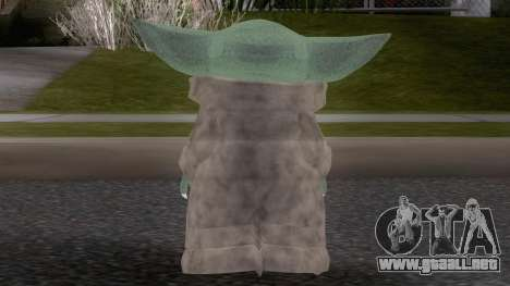 Baby YodaGrogu from The Mandalorian para GTA San Andreas