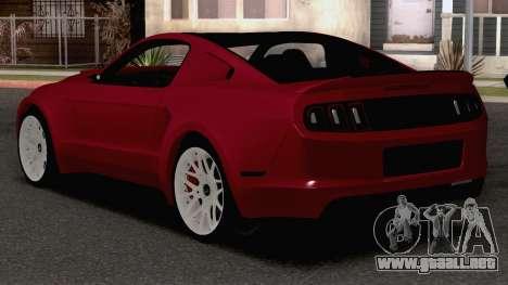 2013 Ford Mustang GT para GTA San Andreas