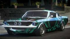 Shelby GT500 BS Old L10 para GTA 4