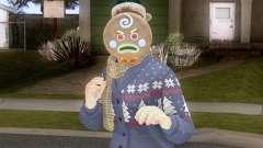 GTA Online Pack de Skins Christmas Parte 2 V3 para GTA San Andreas