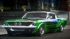 Shelby GT500 BS Old L2 para GTA 4
