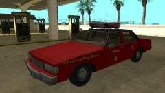 Chevrolet Caprice 1987 Chicago Fire Dept para GTA San Andreas