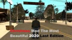 Mod de Navidad El más hermoso 2020 LE para GTA San Andreas