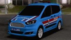 Ford Tourneo Courier Jandarma Asayis&Gendarme para GTA San Andreas